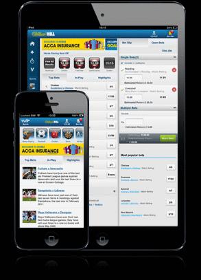 Приложение ВильямХилл для Андроид
