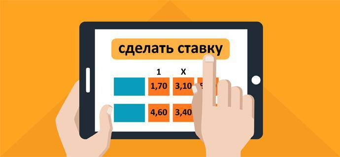 Ставки на спорт онлайн - Bet on Mobile