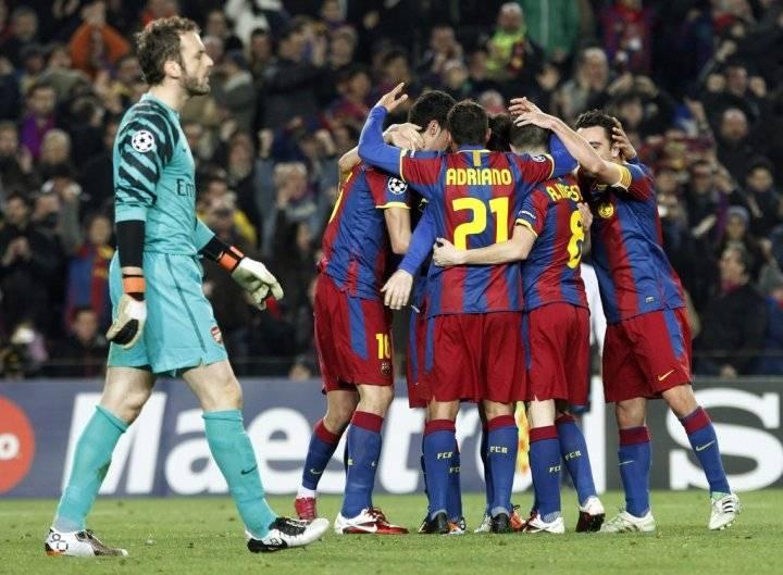 Прогноз и ставка на матч Арсенал - Барселона 23 февраля