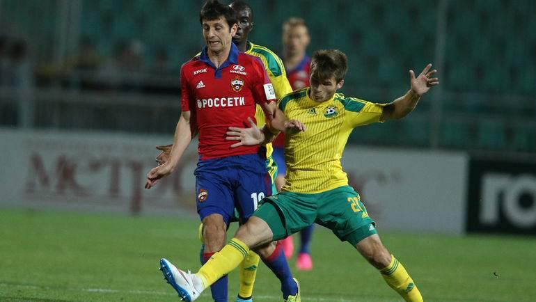 Прогноз и ставка на матч ЦСКА - Кубань