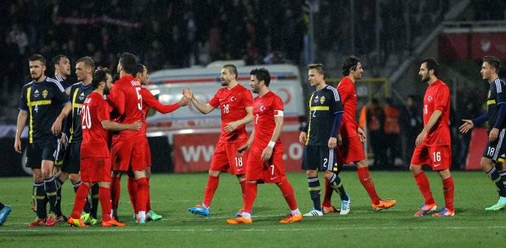 Ставка и прогноз на матч Турция - Швеция