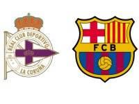 Депортиво - Барселона 20 апреля