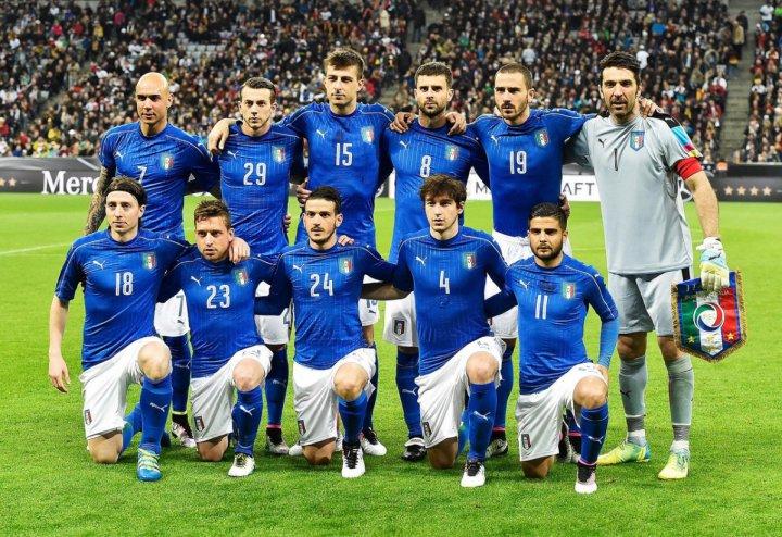 Сборная Италии 2016