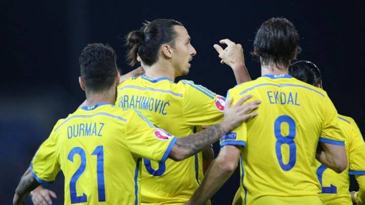 Сборная Швеции на Евро 2016