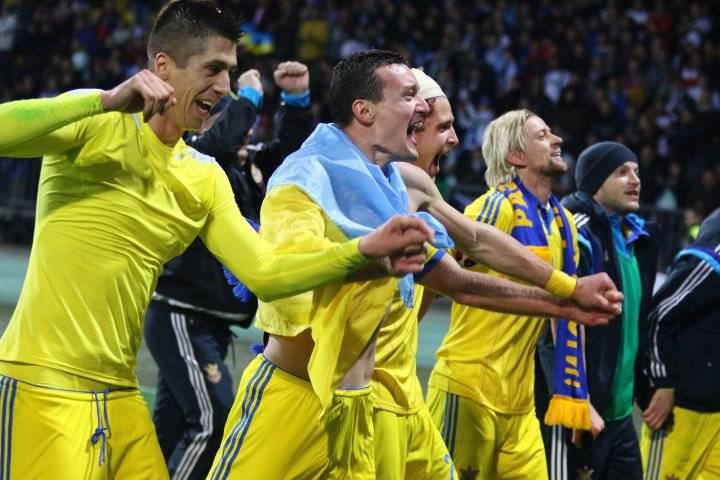 Сборная Украины 2016