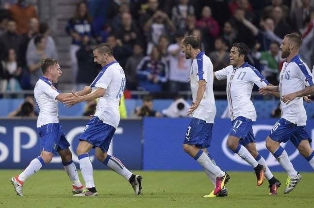 Обзор матча Бельгия - Италия