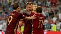 Гол Березуцкого в матче Англия - Россия