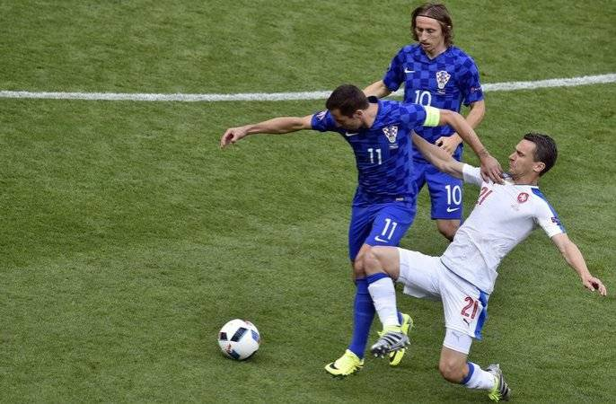 Обзор матча Чехия Хорватия
