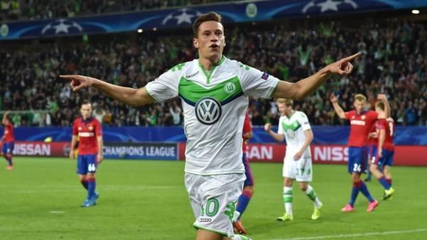 Немецкие букмекеры: Дракслер может перейти в «Манчестер Юнайтед»