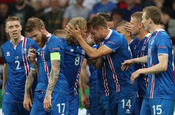 Обзор Англия - Исландия