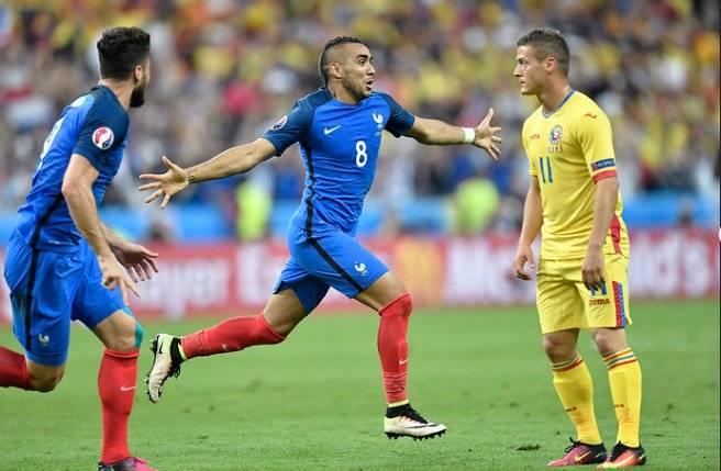 Как сыграли Франция и Румыния на Евро-2016