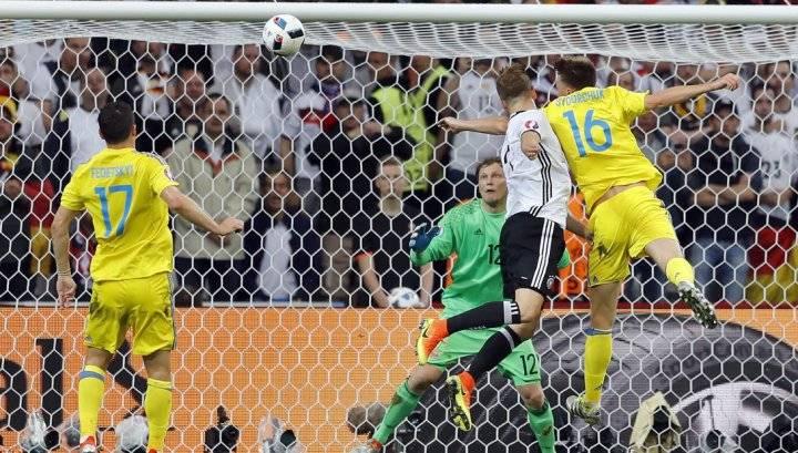 Обзор матча Германия - Украина