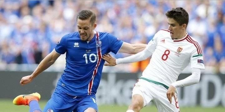 Обзор матча Исландия - Венгрия