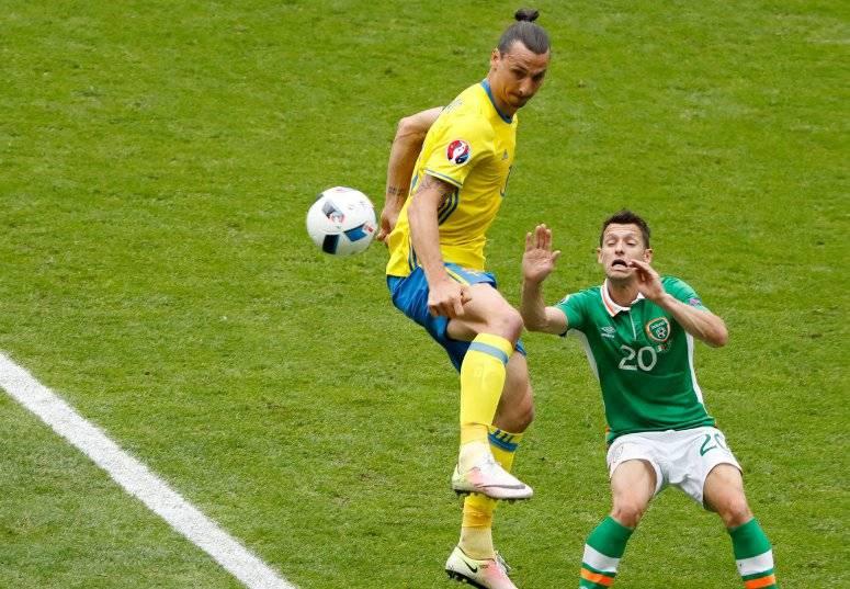 Обзор матча Ирландия - Швеция