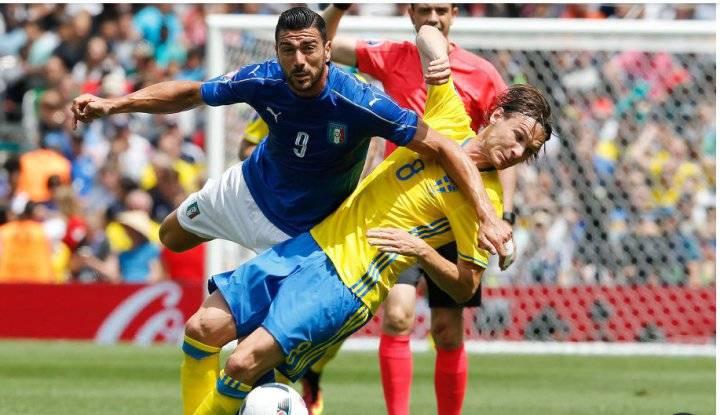 Обзор матча Италия - Швеция