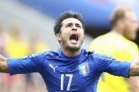 Матч 17 июня Италия - Швеция - обзор