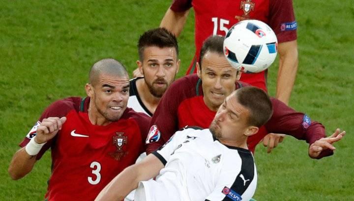 Как сыграли сборные Португалии и Австрии