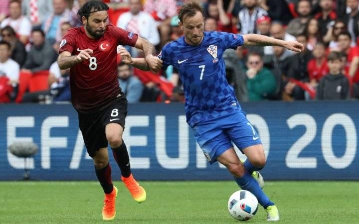 Турция - Хорватия Евро-2016 (обзор)