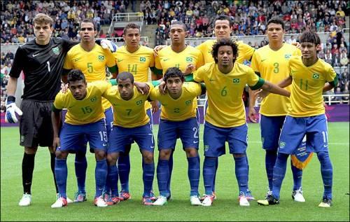 Бразилия – фаворит футбольного турнира на Олимпийских Играх