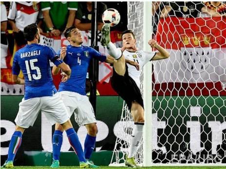 Евро-2016. Германия – Италия. Немцы не проигрывают по пенальти