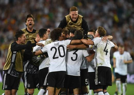 Германия - Италия. Обзор