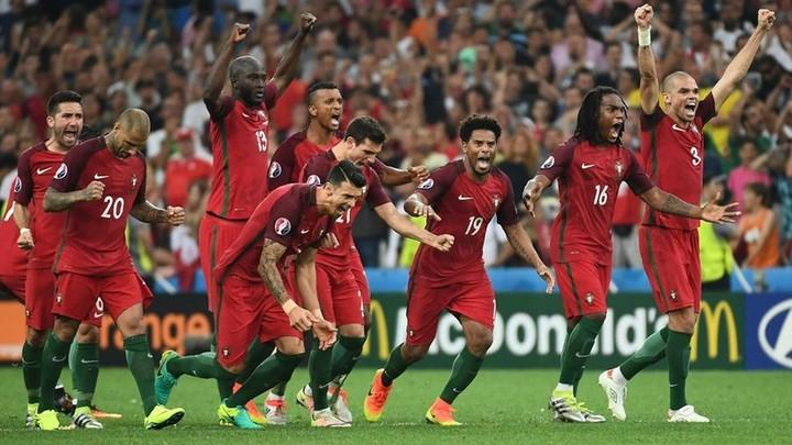 Польша - Португалия Евро-2016 обзор
