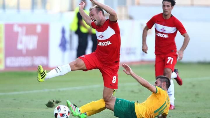 Спартак - АЕК: прогноз и ставка на матч