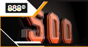 Фрибет 500 баллов за регистрацию от 888.ru