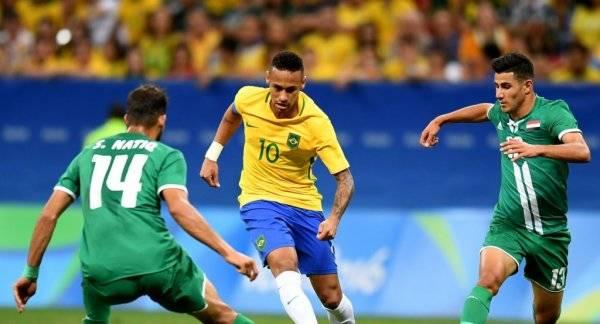 Бразилия остается фаворитом футбольного турнира ОИ