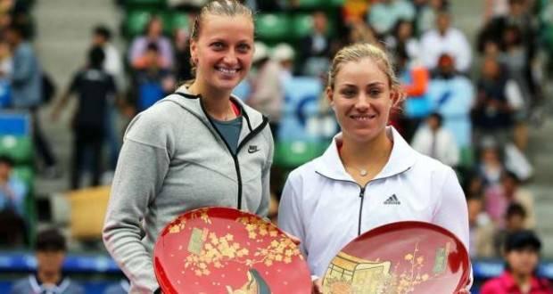 БК «Лига ставок»: Кербер и Квитова – фавориты на финал в женском теннисе