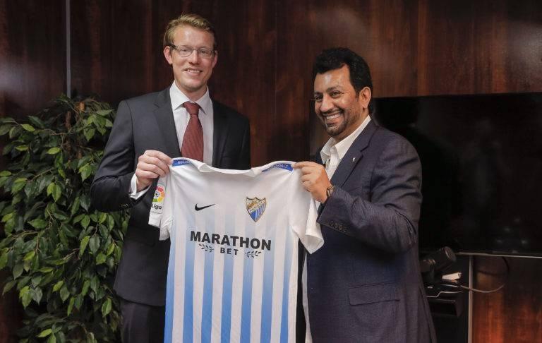 Marathonbet стали титульным спонсором «Малаги»