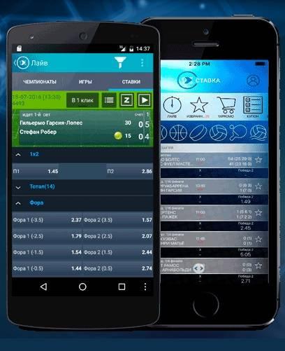 Мобильная версия букмекерской конторы 1xStavka