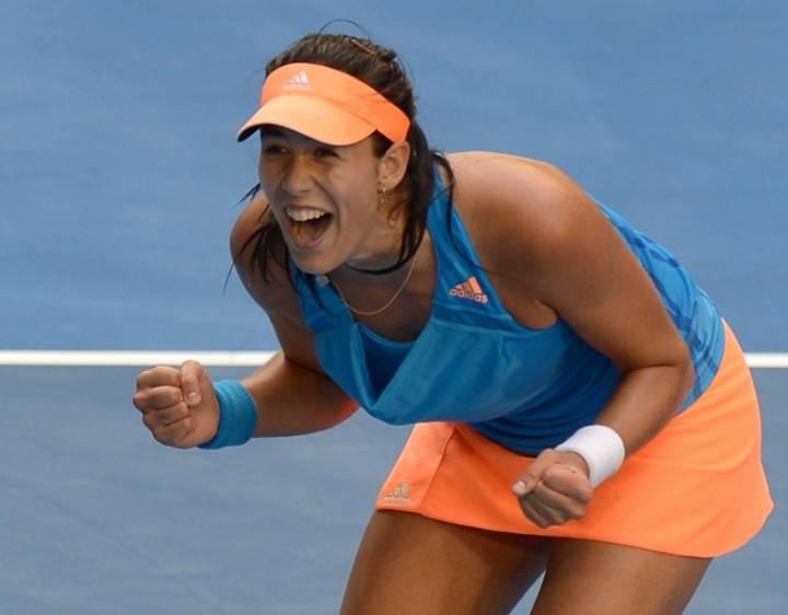Теннисистка Мугуруса