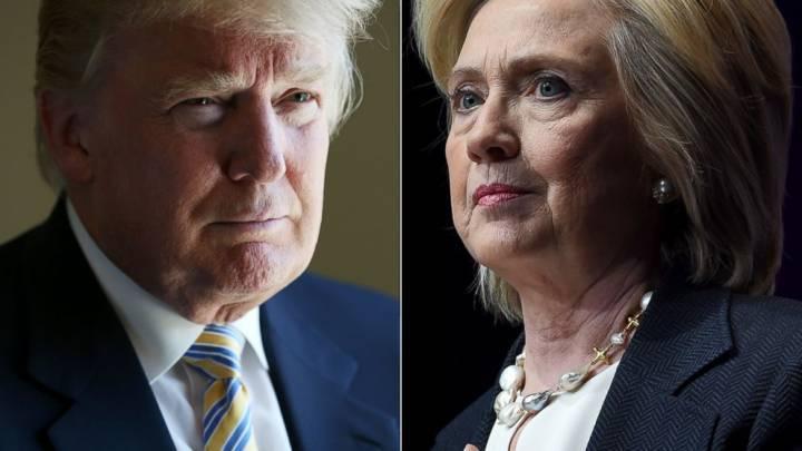 Прогноз Клинтон - Трамп