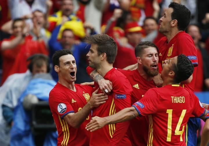 Италия - Испания 6 октября