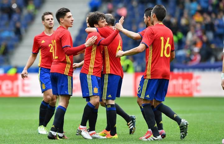 Прогноз Испания - Македония