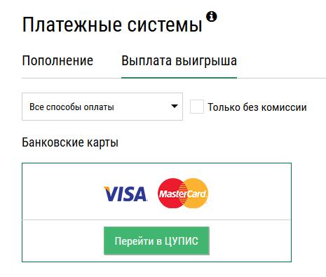 Вывод денег платежные системы