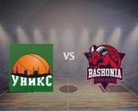Прогноз и ставка на игру УНИКС — Баскония 15/12/2016