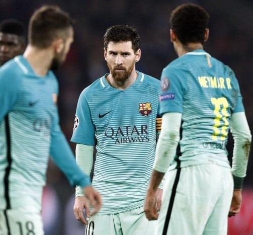 Букмекеры: «Барселона» вылетит из Лиги чемпионов