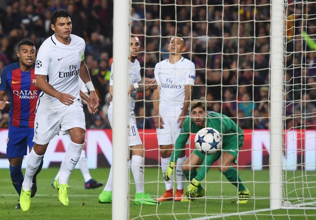 Барселона - ПСЖ - 6:1. Каталонцы забивают очередной мяч