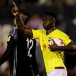 Фелипе Кайседо забивает за сборную Эквадора