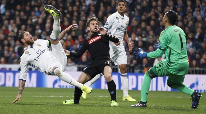 Прогноз Наполи - Реал (Лига Ставок)