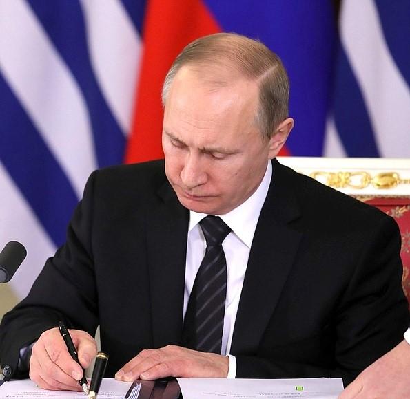 Владимир Путин подписал закон о целевых отчислениях букмекеров