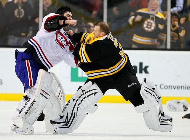 Самые крутые драки в НХЛ всех времен