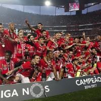 Бенфика - чемпион Португалии-2017