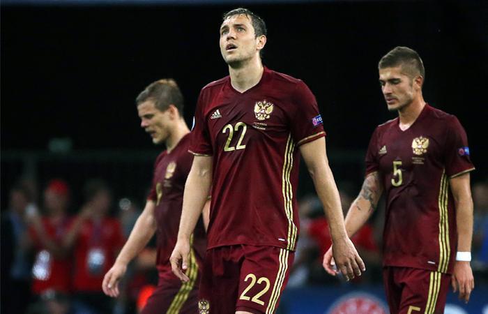 Сборная России на Евро-2016