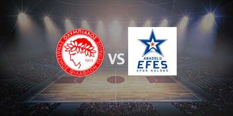 Прогноз и ставка на игру Олимпиакос – Анадолу Эфес 2 мая 2017