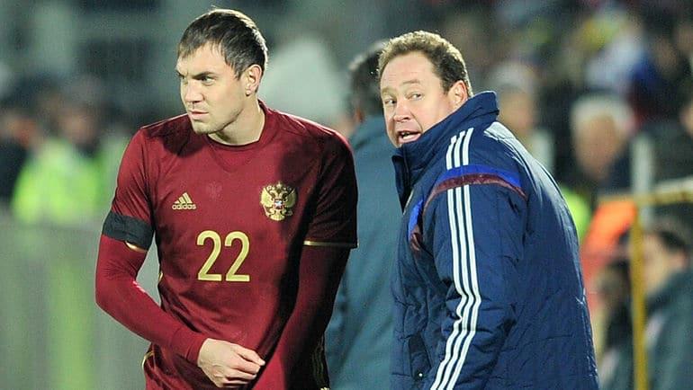 Леонид Слуцкий и Артем Дзюба