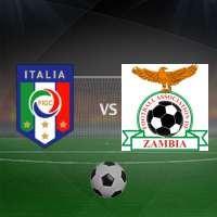 прогноз Италия - Замбия 5 июня