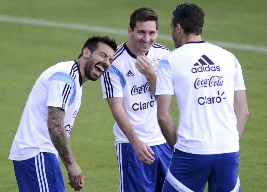 Тренировка сборной Аргентины